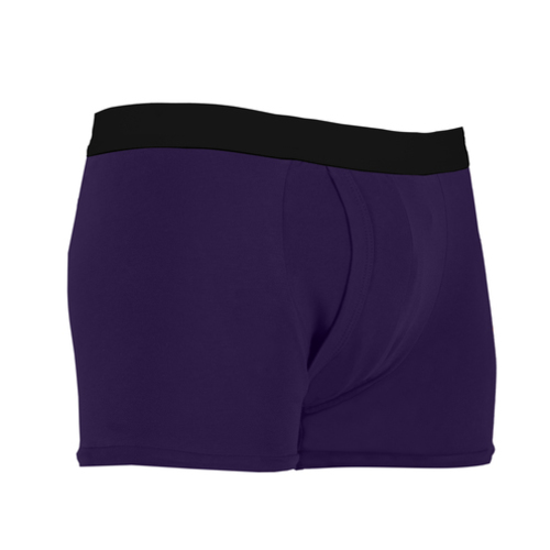Mens Inco-Elite Trunk Purple ( With Built in Pad)