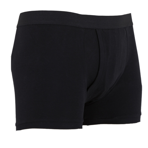 Men's Incontince Plus Size Protective/Fixation TRUNK - BLACK