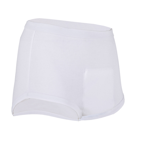 Mens incontinence pouch pants from the mens incontinence product range.