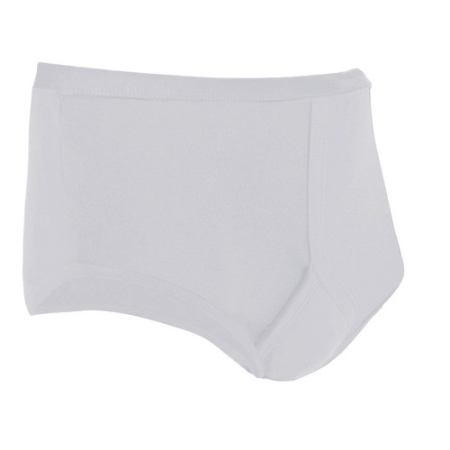 Traditional incontinence pants (y fronts) from the mens incontinence product range.