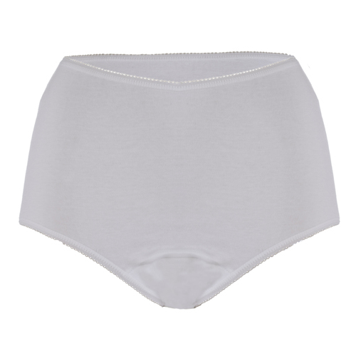 Cotton incontinence briefs from the womens incontinence product range.